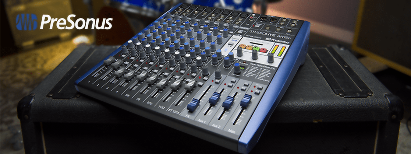 The StudioLive AR12 is a mixing console specifically designed for musicians. Understand: easy to handle with the certainty of never being lost!