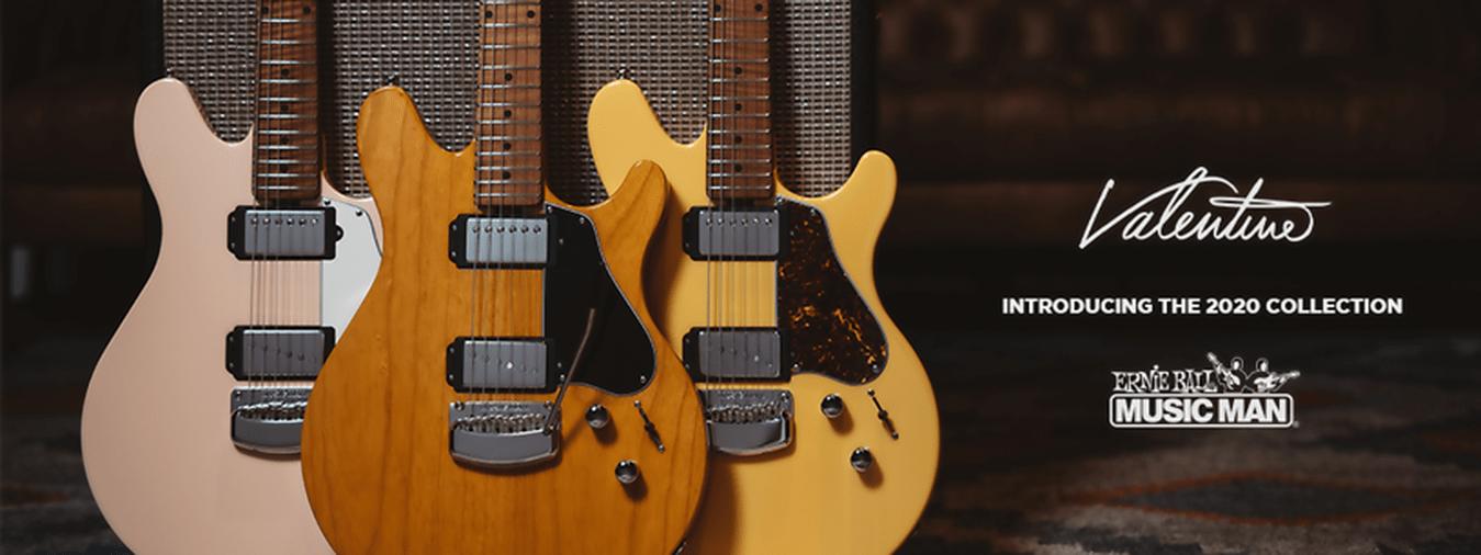 Music Man legendäre Gitarren