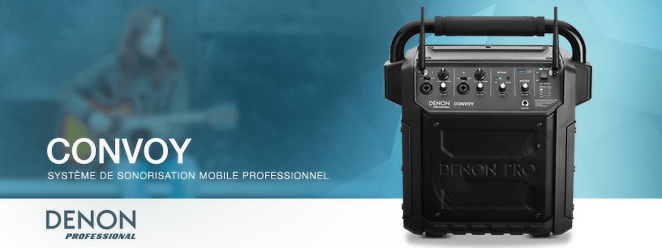 Der Audio Commander ist ein kompaktes, mobiles und leicht zu transportierendes Audiosystem, das den Klang einer Rede oder die Verbreitung von Musik ermöglicht