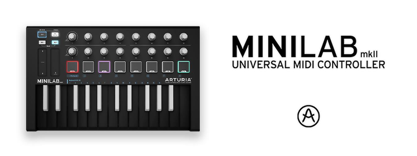 ¡El último mini teclado maestro de 25 teclas llega en una hermosa edición limitada en blanco y negro que incluye software gratuito!