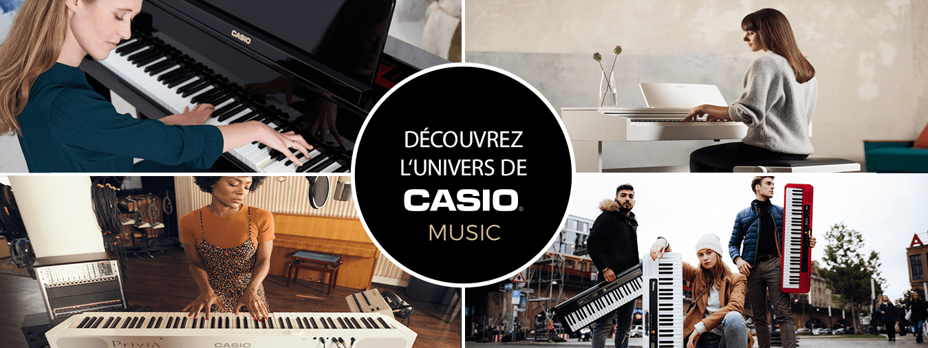 CASIO Keyboards - Keyboard instruments for amateurs and professionals