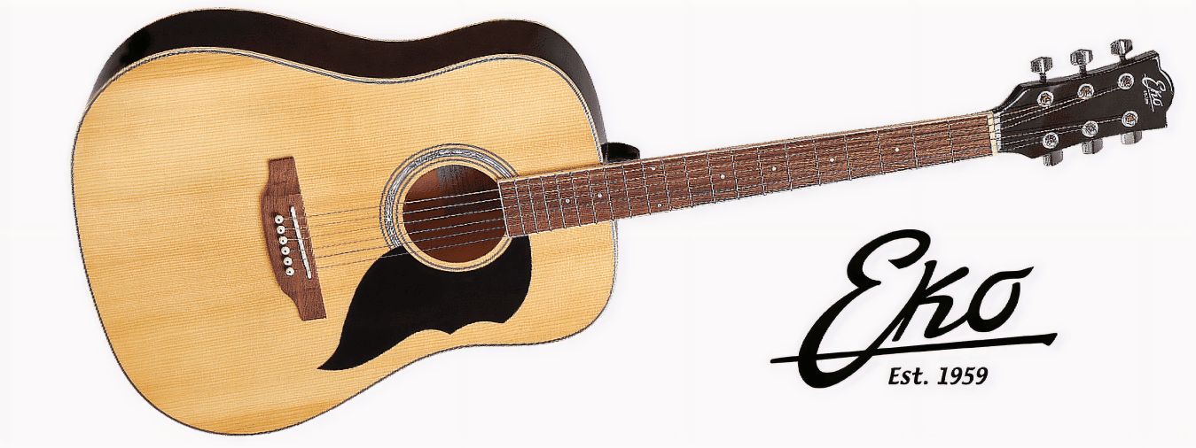 Discover the Eko brand, the Italian leader in the world of the guitar, which provides all guitarists with high-performance, quality equipment.