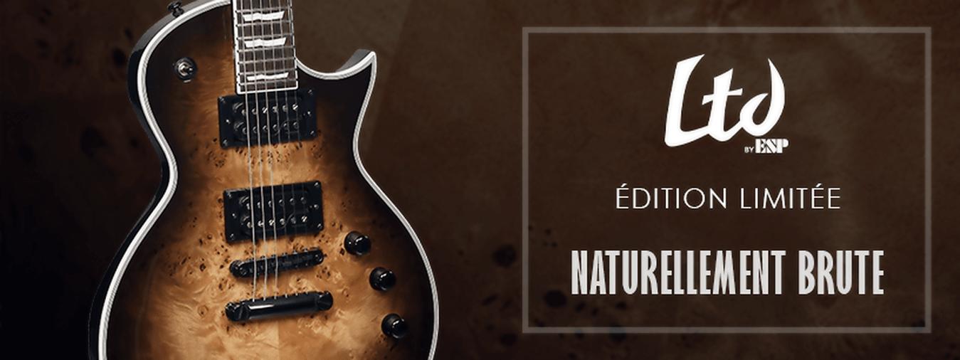 Eine der großen Stärken von LTD: die Mythen der Gitarre überarbeiten und vollständig aktualisieren: Markierte Abschrägungen und Ausschnitte und Tonabnehmer Humbucker ESP, Seymour Duncan oder EMG für einen großen Klang, der sehr aktuell ist!