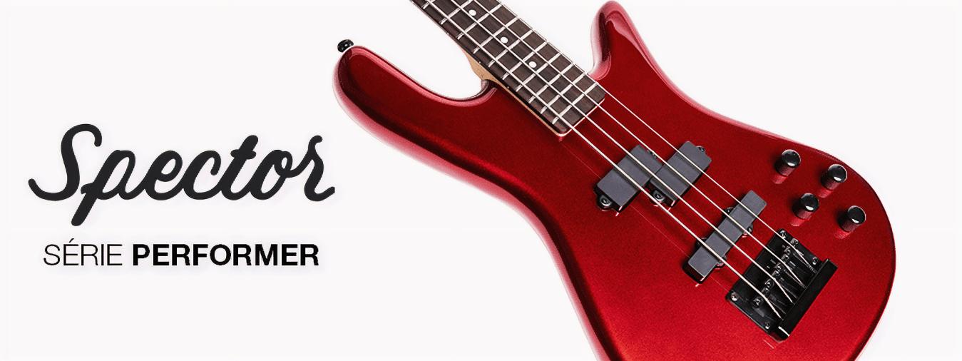 Die Spector Performer-Bässe sind perfekt für Anfänger oder Bassisten, die ein komfortables, natürliches und qualitativ hochwertiges Spielerlebnis suchen.