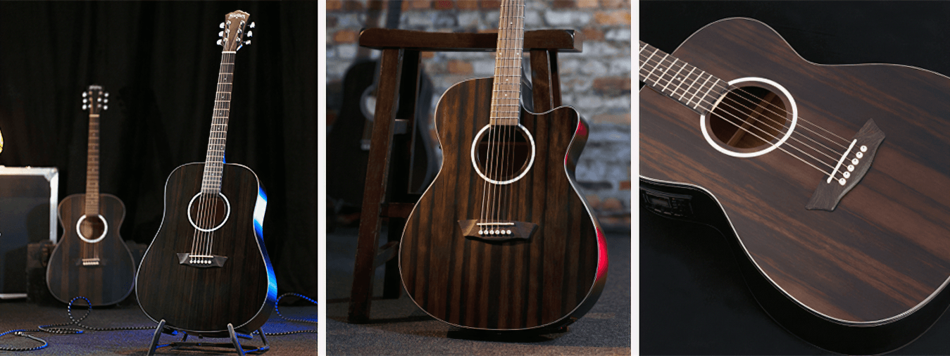 Discover the Washburn brand, leader in the USA guitar world, which offers all guitarists high performance and quality equipment.
